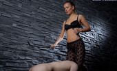 Under Feet Slave Can'T Resist The Seductiveness Of His Domina'S Shapely Legs And Feet