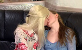Backdoor Lesbians Ninon & Nellie Slutty Lesbian Gal Knows How To Treat With Cutie In Hot Ass-Cramming Action