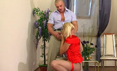 Anal Pantyhose Caroline & Nicholas Lusty Chick Lowering Her Control Top Pantyhose To Get Rocky Cock Up Her Bum