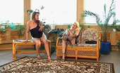 Backdoor Lesbians Kathleen & Ella Voluptuous Blonde Gal Can'T Stop Drilling Yummy Ass With Her Rubber Sword
