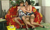 Backdoor Lesbians Madeleine & Gwendolen Fiery Lesbian Babe Readily Exploring A Tight Hole With Her Beloved Sex Toy