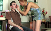 Strapon Sissies Emilia & Connor Freaky Chick Helps Her Sissy Boyfriend With Make-Up And Fucks Him As A Girl