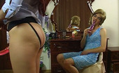 Strapon Sissies Rita & Maurice 259477 Hot-Assed Guy Dresses Like A Girl And Plays With Dildos Aching For Ass-Fuck