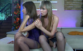 Backdoor Lesbians Florence Strapon-Armed Lesbo Cheers Up Her Upset Lover With Ass Poking And Drilling