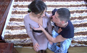 Anal Pantyhose Keith & Claudius Tempting Babe Getting Groped And Ass-Fucked Thru Her Open Crotch Pantyhose