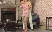 Nylon Feet Videos Marion & Mike Well-Hung Guy Massaging Every Nylon Toe Aching For Cock-Stiffening Footjob