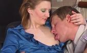 Nylon Feet Videos Isabella & Bertram Kinky Co-Worker Tongue-Tickling Sweet Feet Of Red Hot Lady-Boss In Tan Hose
