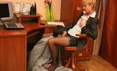 Nylon Feet Videos Cassandra & Vitas Lewd Co-Worker Sniffing High Heel Shoes While Fucking Hot Gal In Black Hose