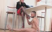 Nylon Feet Videos Susanna & Nicholas Hottie Turning Guy Into Her Sex Toy Craving To Get Her Nylon Feet Fondled