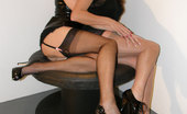 Nylon Jane Sucks Gorgeous Tgirl Candi'S Huge Cock