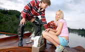 My Sexy Kittens Carla Cox Blonde Schoolgirl Loves To Get Shagged Outdoors On The Water