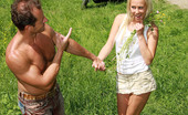 My Sexy Kittens Carla Cox Teenage Blonde Enjoys A Stiffy Cock In The Public Woods