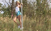 My Sexy Kittens Gallery Th 27966 T 263761 Hot Blonde Teen Performs As Sexy Poledancer In The Park