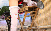My Sexy Kittens Sasha Rose Cute Teenage Chick Loves Stuffing Big Dildo In Her Asshole