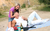 My Sexy Kittens Gallery Th 32283 T A Horny Couple Publicly Shagging Outdoors At A Picknick