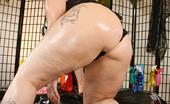 CJ Wright Redhead Big Butt Woman Selena White Sucking And Fucking Big Black Cock In This Interracial Shoot
