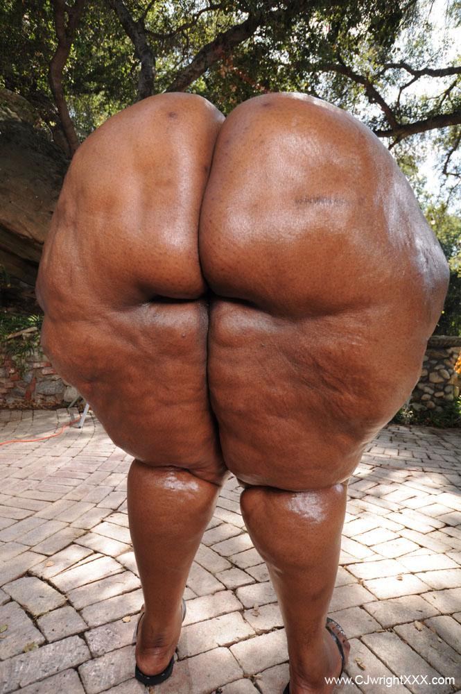 Big Booty Black Girl Backshots