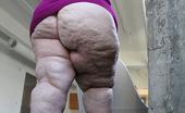 CJ Wright Huge Ass BBW Della Posing Nude In San Francisco