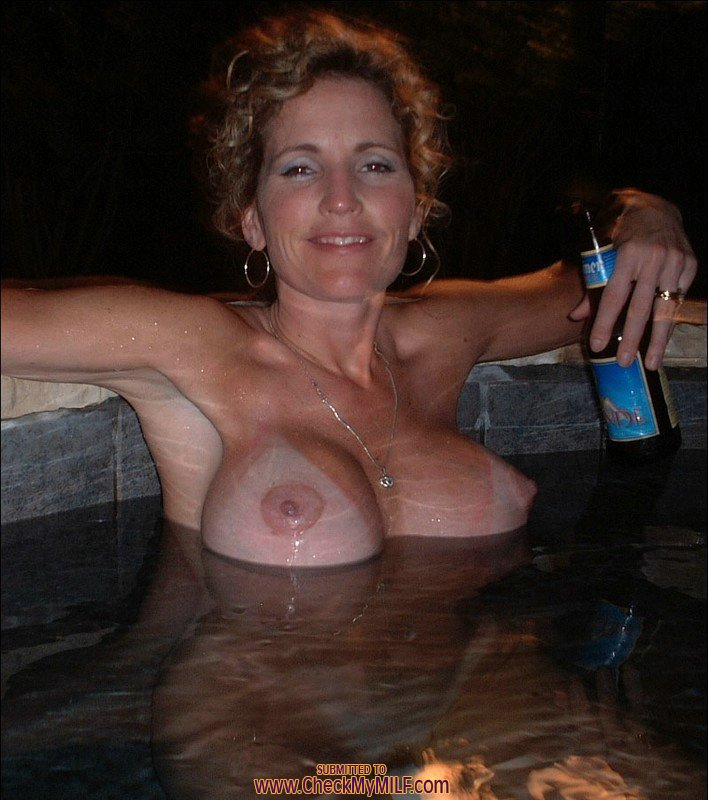 image Check my milf suped hit busty wife eating cum