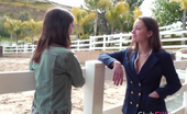 Club Filly Dani Daniels & Ally Evans Ally Evans And Dani Daniels Erotic Lesbian Scene