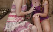 Club Filly Alaina Fox & Aurielle Summer Alaina Fox And Aurielle Summer Brunette On Brunette