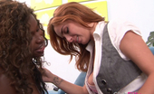Club Filly Tristina Millz & Ashley Graham Ashley Graham And Tristina Millz Lick Each Other Off
