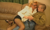Guys For Matures Alice & Frank Lustful Milf Teasing Younger Guy With Her Skills In Cock-Sucking And Riding