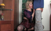 Guys For Matures Emilia & Jerry Dressed To Kill Blonde Oldie Getting Groped And Banged From Behind By A Guy