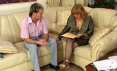 Guys For Matures Viola & Rolf Lusty Old Lady-Boss Bares Her Tits And Spreads Legs Interviewing A New Guy
