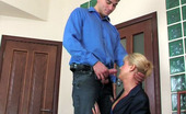 Guys For Matures Bridget & Clifford Mature Office Babe Makes A Male Co-Worker Hot-To-Trot And Ready For A Score