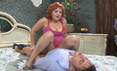 Guys For Matures Viola & Govard Red-Haired Mature Babe Making Spread-Eagle For A Guy In Hardcore Session