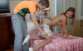Hardcore Youth Katrina Anal Sex And A Facial Cumshot For A Young Teen