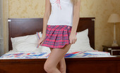 Hardcore Youth Isabelle Cute Teen In Miniskirt Shows Off Her Gaping Asshole
