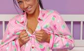 Trista Stevens Pinkpjsnn Trista Wearing Cute Pink Panties