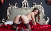 Rylsky Art Kristel Riccabicca Wearning Thigh Highs, Kristel Is The Picture Of Feminine Grace
