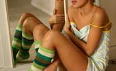 Sandy Fair Striped Socks Nn Do You Like Sandy Fair Little Dress?