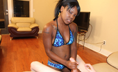 Ebony Tugs Aries 272439 Feirce Torture And Teasing Ebony Babe Stroking Big Cock And Get Cumshot