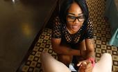 Ebony Tugs Phatcheeks Phatcheeks Handjob Skills Teen Ebony Babe Phatcheeks Showing Her Handjob Skills