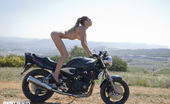 Showy Beauty Kalinka Hot Girl Bustybiker Freedom, Pure And Wild Nature, Heavy Motor Power And Cute Chick. Nothing More That A Real Man Need For A Good Life, And No Less.