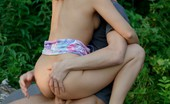 Smack My Bitch Avina Spunk Loving Redhead Fucked Outdoors Curly Hair Cutie Avina Hangs Outdoors In Her Skimpy Tube Top And Little Shorts And She'S Captured The Attention Of This Eager Young Man And He Hopes Desperately To Take Their Relationship To The Next Level. He Wants To Feel The Inside Of Her Wet Pussy Wra