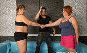 BBW Fight Club Nikamira Hungry For Cock BBWs Nika & Mira Wrestling Like Wild Cats