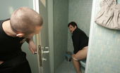 Mature Toilet Sluts Mature Mariette Loves To Suck And Fuck On A Toilet