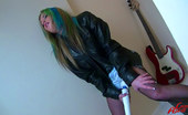 Leony Aprill A Horny Guitar Playing Sweetie Enjoys Pleasuring Herself