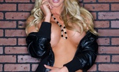 Samantha Saint 275889 Samantha Saint Shows Off Her Amazing Tits Wearing Only A Black Leather Jacket And Small White Thongs Black Leather Jacket Hottie