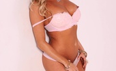 Samantha Saint Sexy Samantha Saint Flaunts Her Amazing Body In Her Pink Bra And Panties Pink Bra Hottie