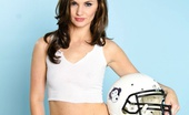 Lily Carter Sexy Football Lily Lily Shows Of Her Puba Gear And Her Love For Football