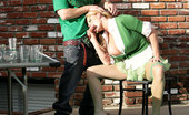 Kelly Madison Irish Drinking Team Kelly Sucks Down Some Cock Instead Of Beer For St. Patty'S Day Then Fucked In The Grass.
