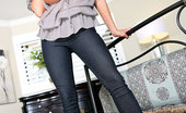 Kelly Madison I'M Bossy Kelly Bosses You Around In Tight Jeans And A Loose Barely There Top.