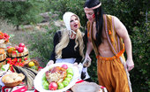 Kelly Madison Titsgiving The Native Pokabeaver Loves His Land, But He Loves Pussy More, And Kelly Is More Than Willing To Show Him The Meaning Of Titsgiving