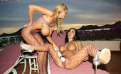 Kelly Madison Double Duty Two Pussies, Two Pairs Of Big Tits - What Else Could You Ask For?